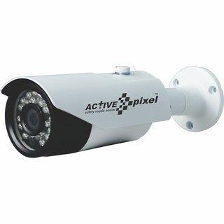 Active Pixel APBL 720Pl3 AHD 1MP IR Bullet CCTV Camera (White)