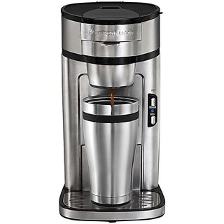 Hamilton Beach 49981 IN The Scoop Single-Serve Coffee Maker