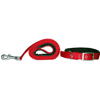 PET CLUB51 STANDARD DOG COLLAR AND LEASH -SMALL