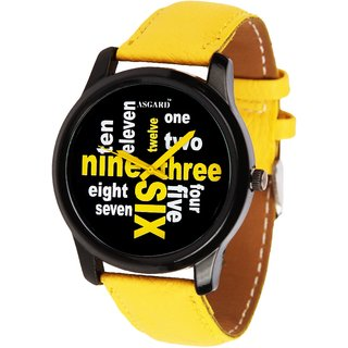 79c1f134416 Buy Asgard Analog Black Dial Watch for Men- YL-88 Online - Get 83% Off