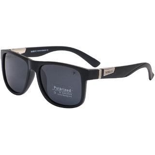 Super-X Polarized Wayfarer Sunglass SXBLK-7834-5318-134