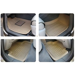 ROYAL Assorted Floor Mat 3D Type For Toyota Innova (Beige)