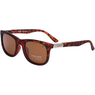 Super-X Polarized Wayfarer Sunglasses SXTIGER-7839-5123-137