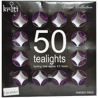 Kriti Set Of 50 Perfume Tea-LIGHTS In A Pack (Lavender)