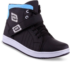 Adybird Men's Blue & Black Lace-Up Casual Shoes