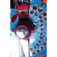 Spiderman Watch 24 Image Projector Watch Gift Toy For Kid