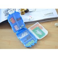 Multipurpose Small Storage Box For Pills, Medicine, Jewellery, Bottons Etc (Color May Vary)