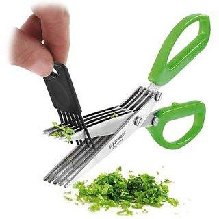 Scissor Stainless Steel All-Purpose Scissor(Multicolor Pack of 1)
