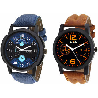 Relish Combo of 2 Men Watches