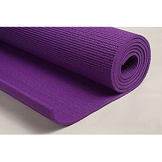 Magma Store Anti Skip Grip Yoga Mat 4MM Thick  Soft Comfort Fitness Exercise Non Slip Surface(ST056)