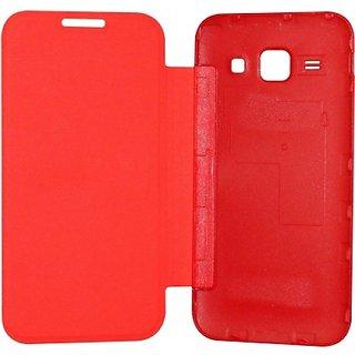 Hi Grade Red Flip Cover for Nokia Lumia 530