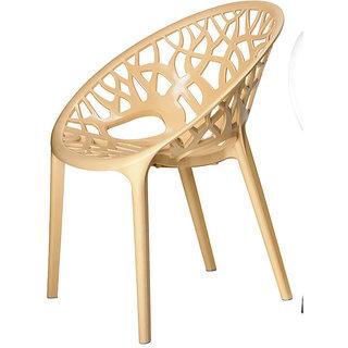 Nilkamal Crystal Pp Chair -@ home by nilkamal