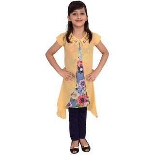 e9f805f565 Girls Dress Top and Leggings set by Arshia Fashions - sleeveless - Party  wear