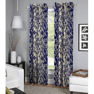 BSB Trendz Printed Door Curtain Set Of 2