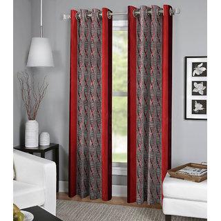 BSB Trendz Set of 2 Window Eyelet Curtain