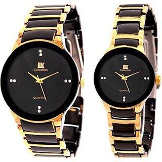 NEW IIK Collection Couple Watch 013M-1002W Luxury Analog Watch - For Men, Women, Boys, Girls