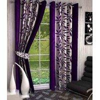 R Trendz Printed Door Curtain Set Of 2