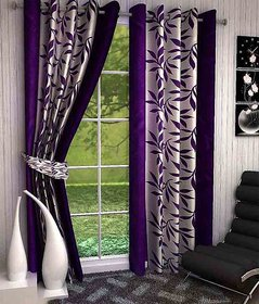 R Trendz Printed Door Curtain Set Of 2