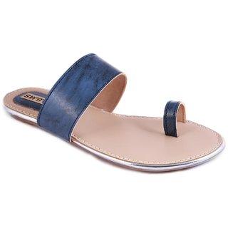 Balujas Women's Blue Flats