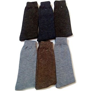 12 Pair Men Long Socks