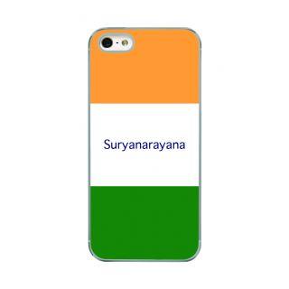 Flashmob Premium Tricolor HL Back Cover - iPhone 5/5S -Suryanarayana