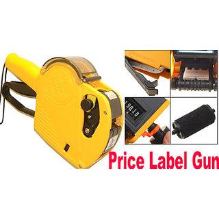 4 Put Label Marking price Labeler+Label Ink Roller Fast