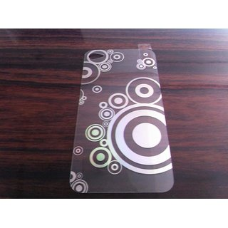 Printed Designer Laser Screen Guard Protector Scratch Guard For Iphone 4 4S 4G