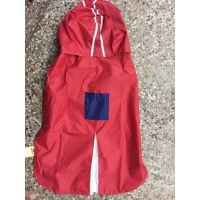 Rain Coat For Your Pet (DOG RAIN COAT) We Offer 12, 14, 16  18 Inch Size (Red,Blue)