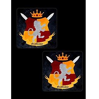 Set of 6 Gryffindor Coasters
