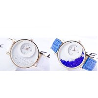 Super Combo Women White And Blue Combo Of 2 Party Wadding Analog Ladies And Girls Watch