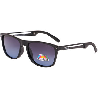 Super-X Polarized Wayfarer Sunglasses SXBLK-54161