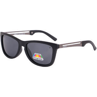 Super-X Polarized Wayfarer Sunglasses SXBLK-GNX702