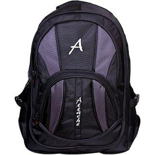 Attache Attache Premium School Bag / Laptop Bag (Black) 30 L Backpack         (Black) premiumbackpackblack