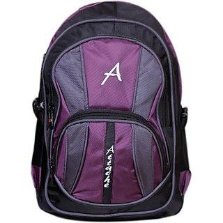 9a80229c64 Attache Attache Premium School Bag / Laptop Bag (Purple Black) 30 L Backpack  (Purple) premiumbackpackpurple