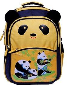 Attache Waterproof School Bag         (Blue, 14) Attache Blue Panda Kids School Bag