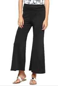 WOMENS FASHION By The BrandStand Womens Cotton Lycra Palazzos