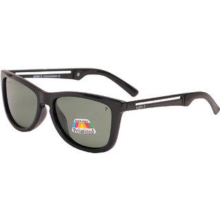 Super-X Polarized Wayfarer Sunglasses SXBLKGREEN-GNX702