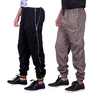 Swaggy Solid Mens Track Pant Combo of 2