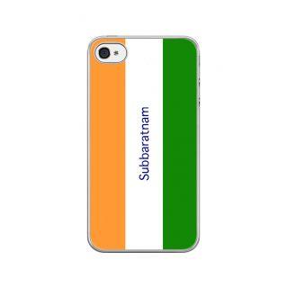 Flashmob Premium Tricolor VL Back Cover - iPhone 4/4S -Subbaratnam