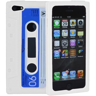 Retro Icassette Iphone Case For Iphone 4 And 4s Black Clone