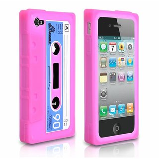 Retro Icassette Iphone Case For Iphone 4 And 4s White Clone