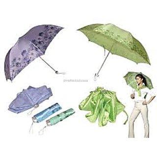 Printed 3-Fold Umbrella (Pack of 2)