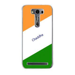 Flashmob Premium Tricolor DL Back Cover Asus Zenfone 2 Laser ZE500KL -Chaddha