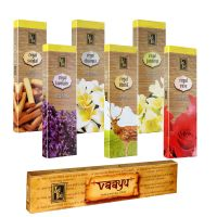 Zed Black Premium Incense Sticks With Pack Of 6 With Free Vaayu Incense Stick Worth Rs 75