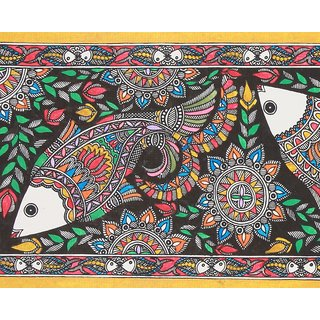 Madhubani Painting Fish