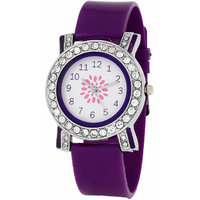 Relish Analog Flower Dial Womens Watch - L703