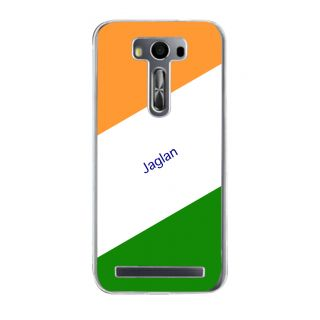 Flashmob Premium Tricolor DL Back Cover Asus Zenfone 2 Laser ZE500KL -Jaglan