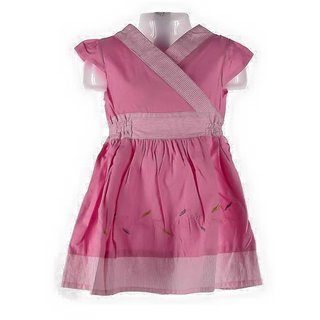 Rithu collections Pink Color Gown For Girl
