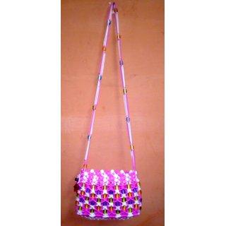 cross body handmade crystal beads purses / bags