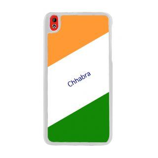 Flashmob Premium Tricolor DL Back Cover HTC Desire 816 -Chhabra